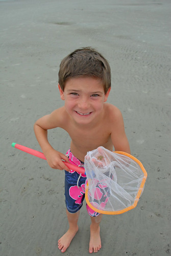 Look Ma, I caught a crab!