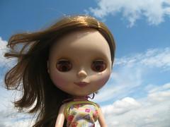 Ashlette in the sky