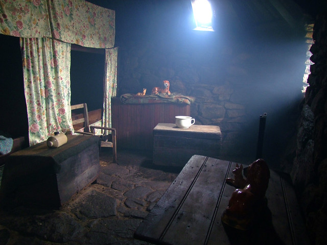 Blackhouse interior again