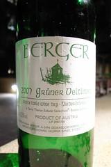 2007 Berger Grüner Veltliner
