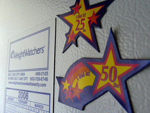 Weight Watchers Award Stars by Laura Moncur from Flickr