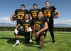 SPX football Top 5 (griegophoto) Tags: portrait sports canon football highschoolfootball teamphoto americanfootball blackgold privateschool spx sportsportrait kimjewsportscom topplayers
