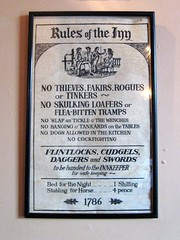 Rules Of The Inn 1786 Flickr Photo Sharing
