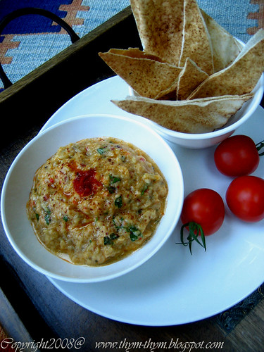 Eggplant and Yogurt dip