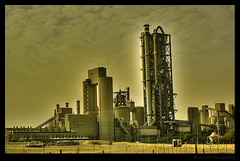 Cement Factory (Maverick :: Photography) Tags: industry factory sony cement structure pollution saudi arabia dslr riyadh saudiarabia hdr industrialcity anawesomeshot onlythebestare pinoyhdr theperfectphotographer sonyalphadslra200 philippinephotographicsociety