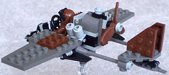 """""""Dragonfly"""" Diesel Scout Plane Mk. I (back) (aillery) Tags: plane lego diesel dragonfly military dieselpunk painparade dieselpulp"""