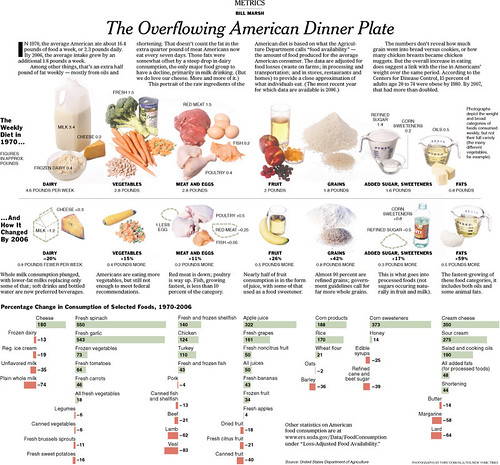 The Overflowing American Dinner Plate