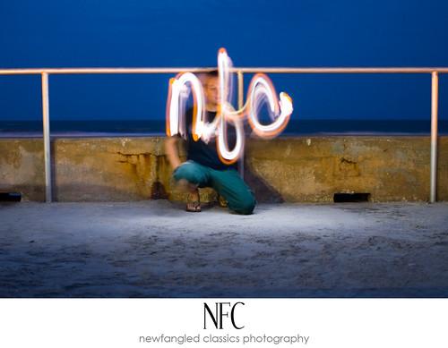 nfc yellow flashlight