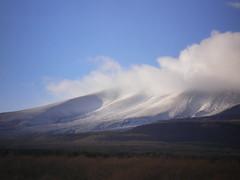 Mt. Asama 07/08 #5 (tt64jp) Tags: sky cloud mountain snow nature berg japan montagne landscape volcano mount  montaa      montagna   gunma  asama   asamayama   kitakaruizawa  tsumagoi  mountasama