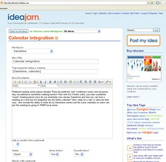 IdeaJam in XPages Progress