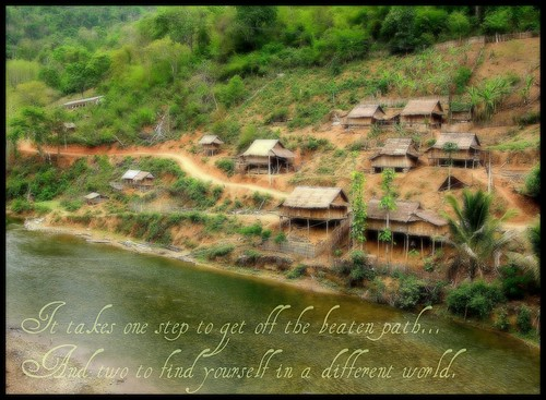 Off the Beaten Path in a Lao Mountain Village