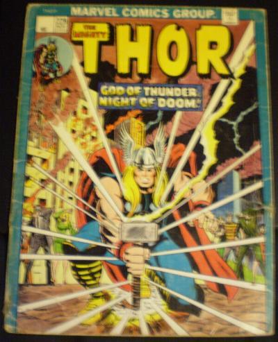 Cover of Thor folder