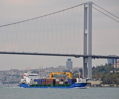 """Emilie K"", Bosphorus, Istanbul, Turkey, 20 September 2008 (Ivan S. Abrams) Tags: coastguard docks turkey boats nikon mediterranean ataturk ships istanbul lighters yachts motorboats nikkor fishingboats shipping tugs straits lakers ports nikondigital blacksea gallipoli ferries harbors watercraft bosphorus tugboats vessels freighters tankers harbours cruiseships barges smrgsbord warships destroyers ferryboats navyships smallboats speedboats frigates internationaltrade classicboats seaofmarmara navies containerships portcities navalvessels bulkcarriers nikonprofessional chokepoints onlythebestare boatnerd ivansabrams trainplanepro feribots nikond300 shippinglanes internationalshipping sealanes ivanabrams worldwideshipspotters alltypesoftransport servicecraft feriobots coastalfreighters marinecommerce internationalcommerce maritimecommerce tugobats copyrightivansafyanabrams2009allrightsreservedunauthorizeduseprohibitedbylawpropertyofivansafyanabrams unauthorizeduseconstitutestheft thisphotographwasmadebyivansafyanabramswhoretainsallrightstheretoc2009ivansafyanabrams abramsandmcdanielinternationallawandeconomicdiplomacy ivansabramsarizonaattorney"