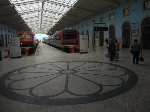 Pavimento da estação