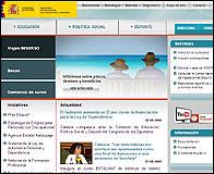 Nueva web del Ministerio de Educación