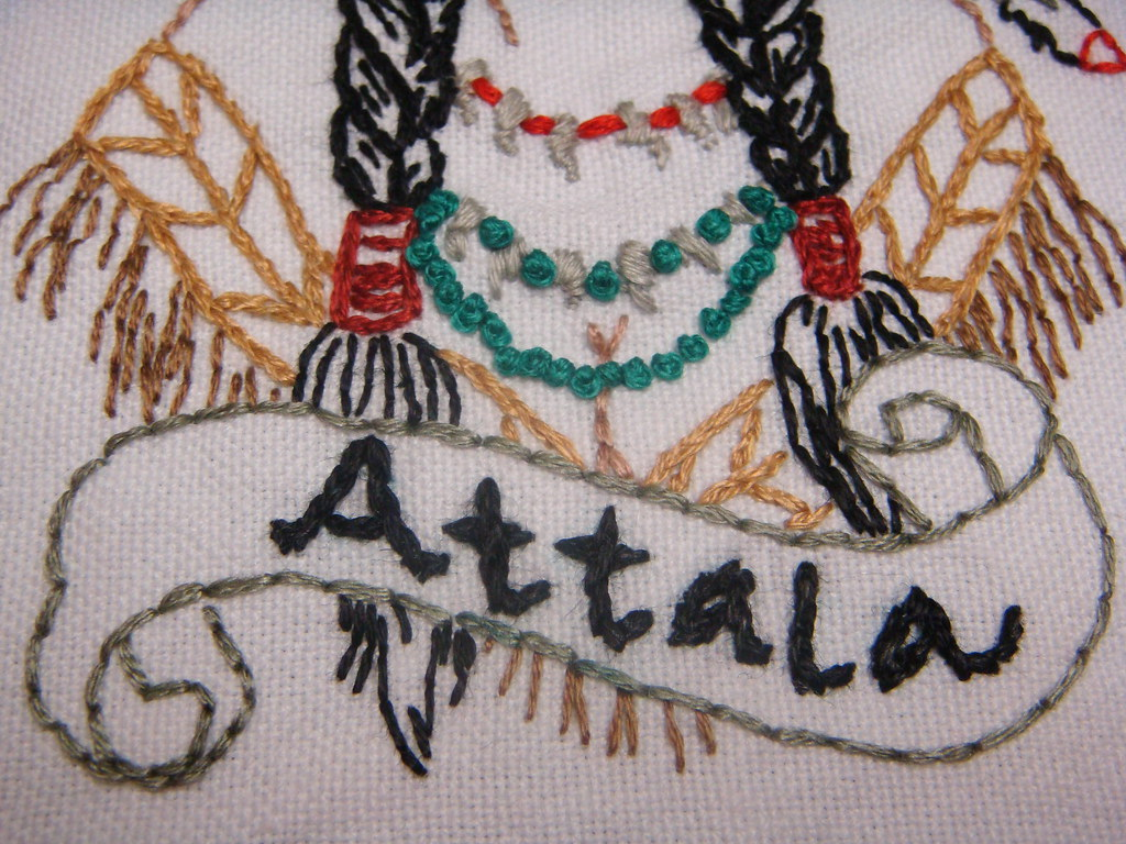 Attala close up