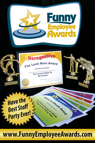 Flickriver: Photoset 'Funny Employee Awards' by Larry Weaver