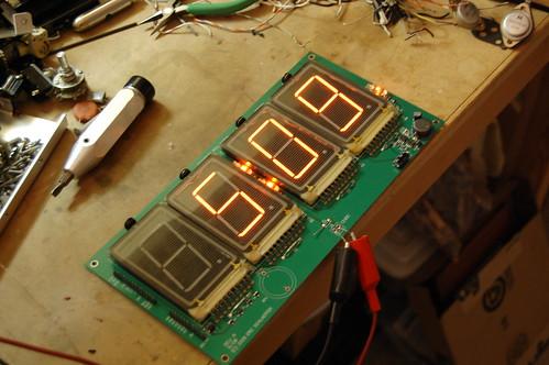 Panaplex Clock - PCB
