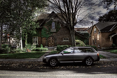 The 'burbs. (shawn peps) Tags: house ottawa audi glebe