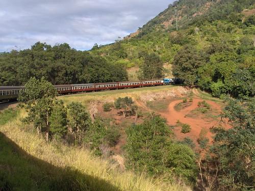 Tren a Kuranda 3