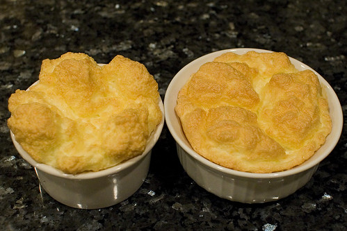 Fresh Baked Brie Souffles
