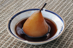 Port Poached Pear