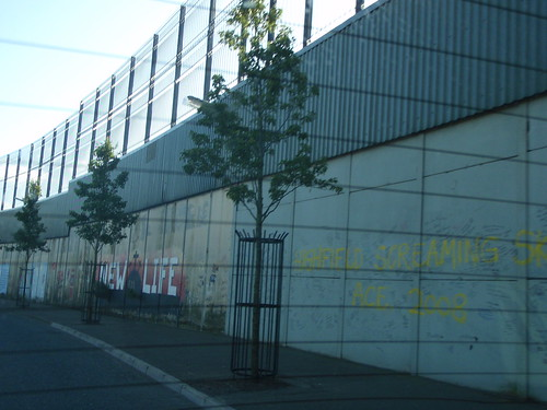 Belfast Black Cab Tour - Peace Wall (4)