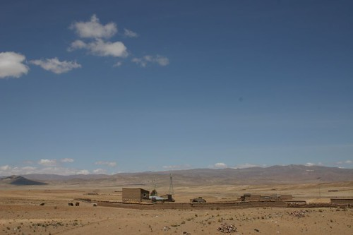 Just south of La Paz, Bolivia.