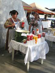 Tashkent Bazaar: 'Nishalda' seller (Captain Claudia) Tags: people food market silkroad bazaar uzbekistan centralasia myfavs tashkent silkroute centralasia08 hrrp