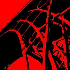 Red Hot Iron (Heaven`s Gate (John)) Tags: bridge red england abstract black art history silhouette architecture iron shropshire steel engineering ironbridge industrialrevolution worldheritagesite castiron abrahamdarby redsteel englishheritage 500x500 blueribbonwinner rediron bronly johndalkin heavensgatejohn mywinners top20red redhotiron birthplaceofindusrty