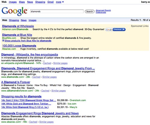 Products in AdWords