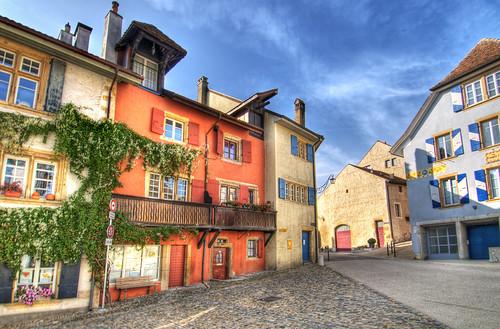 The village of Auvernier