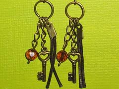 Ref.279 Brincos com chave