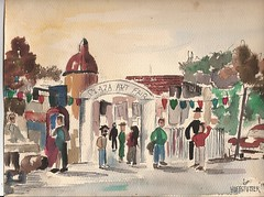 WATERCOLOR OF FIRST VISIT TO ART FAIR (roberthuffstutter) Tags: art watercolor spain essays realestate highschool writers dreams expressionist impressionism watercolors loitering kcmo 1959 careers techniques artclass fieldtrips opportunities photogallery shoppingcenters impressionists subjectmatter artteacher pleinaire spanisharchitecture watercolorpaper naturaltalent arteducation novelists hallmarkcards watercolorpapers galleryphotos importantdecisions photogalleries famousartists spanishmotif famouswriters highschoolartclass galleryphoto huffstutter robertlhuffstutter watercolorsbyhuffstutter contemporaryimpressionism plazaartfair1959 youthfulaspirations jcnicholscompany plansforfuture reflectionsonchoice hsfieldtrip lucilejenkins marketingrealestate specialtyshoppingareas originofshoppingcenters firstshoppingcenters shoppinginusa essaysonwatercolors impressionismart writingsaboutwatercolors rlhuffstuttersart impressionismgenre huffstuttersimpressionistgallery galleryofimpressionistart expressionismandimpressionism impressionistportfolio studyingimpressionism