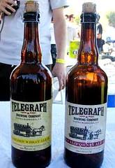 Telegraph Brewing bottles