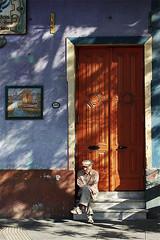 Caballero de La Boca (:Antonio) Tags: door argentina la puerta buenos aires boca caminito