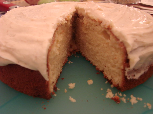 A Peek Inside the Caramel Cake