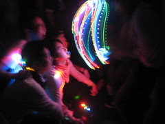 etd.fright 3: people getting a light show (ooitschristina) Tags: show light party rave fright etd skillsdj