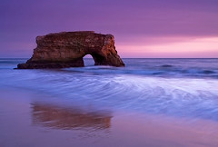 Natural Bridges - Santa Cruz California (Stephen Oachs (ApertureAcademy.com)) Tags: ocean california sunset santacruz arch naturalbridges nov2008 stephenoachs stephenoachscom