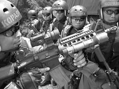 the indonesian frog man (rizky elfikar) Tags: laut navy tni angkatan kopaska angkatanlaut counterterror akabri