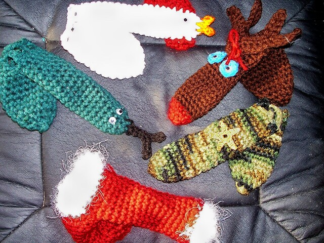 Ravelry Crocheted Willie Warmers Pattern By Debra Matz