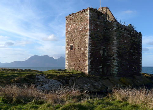 rran & Portencross castle25Nov08