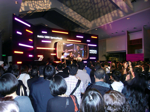 Nokia 5800 Launch Party