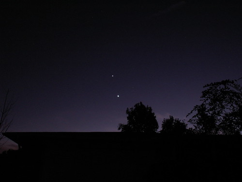 Jupiter and Venus, 26 Nov. 2008