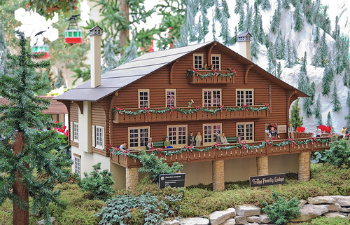 "Missouri Botanical (""Shaw's"") Garden, in Saint Louis, Missouri, USA - Trapp Family Lodge model"