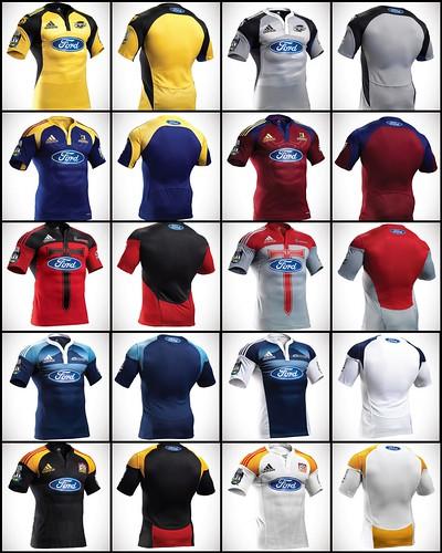 The 2009 Super 14 Jerseys