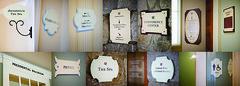 sign system sampler (Ansel Olson) Tags: sign work typography hotel design graphicdesign newhampshire whitemountains system resort signage spa wayfinding conferencecenter mountwashington brettonwoods dayjob signsystem egd anselolsondesign