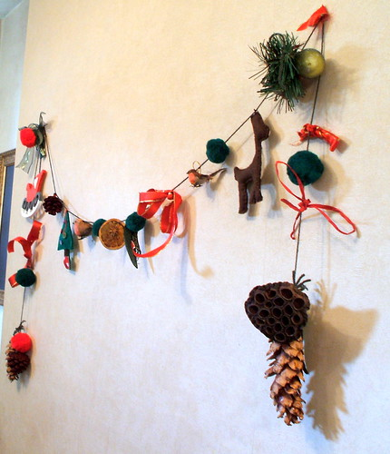 Christmas Garland by Alexandra Mason