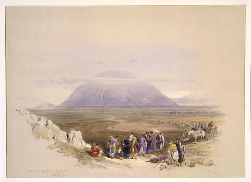 022-Monte Tabor desde la llanura de Esdraelon