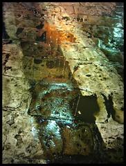 Urban Rain (*Niah*) Tags: street light urban wet water rain night bologna acqua asfalto pioggia stradale manto pedonali bagnato striscie